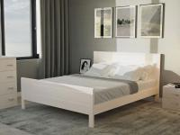 Кровать Райтон Dakota береза (белый, слоновая кость)