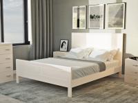 Кровать Райтон Dakota-М береза (белый, слоновая кость)