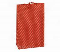 Высокий подарочный пакет Цветочные мотивы