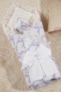 Одеяло-конверт KAZANOV.A. Бамбини, голубой