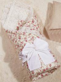 Одеяло-конверт KAZANOV.A. Бамбини, розовый