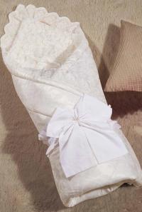 Одеяло-конверт KAZANOV.A. Бамбини, молочный