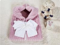 Плед-конверт KAZANOV.A. Infanty с капюшоном, лаванда