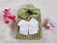 Плед-конверт KAZANOV.A. Infanty с капюшоном, мави