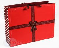Широкий подарочный пакет Sweet Heart