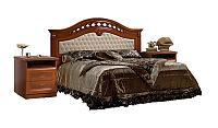 Кровать Ярцево Европа - 7 с мягкой спинкой (160)