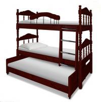 Кровать Шале Альбион трехъярусная