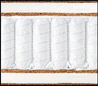 1. Кокосовая койра с конским волосом - 0,5см.