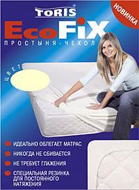 Наматрасник Toris Эко-Фикс для круглых кроватей