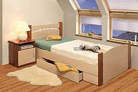 Кровать Олимп-Мебель с ящиком 1400